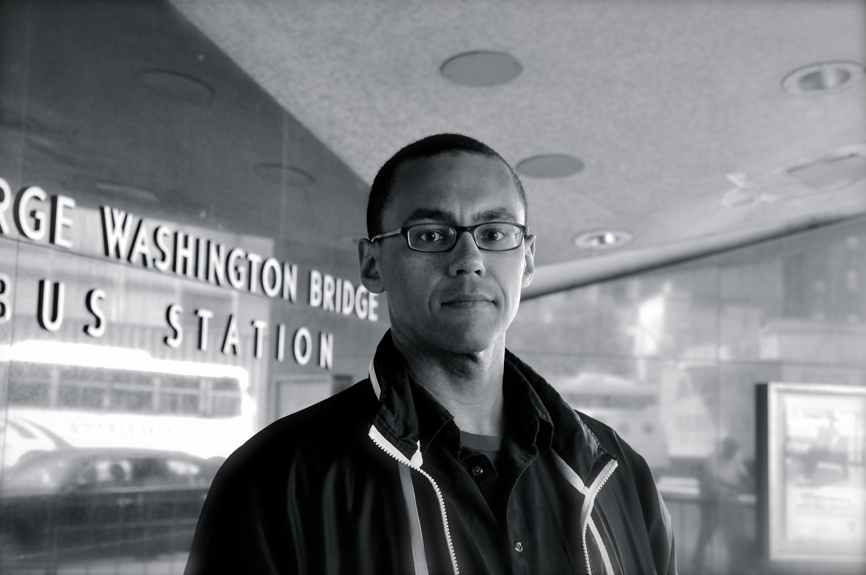 Victor LaValle, photographed by Alyssa Loh