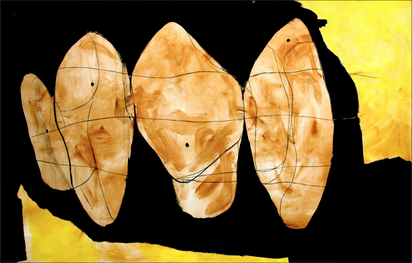 Robert Motherwell, Hollow Man Series, 1989