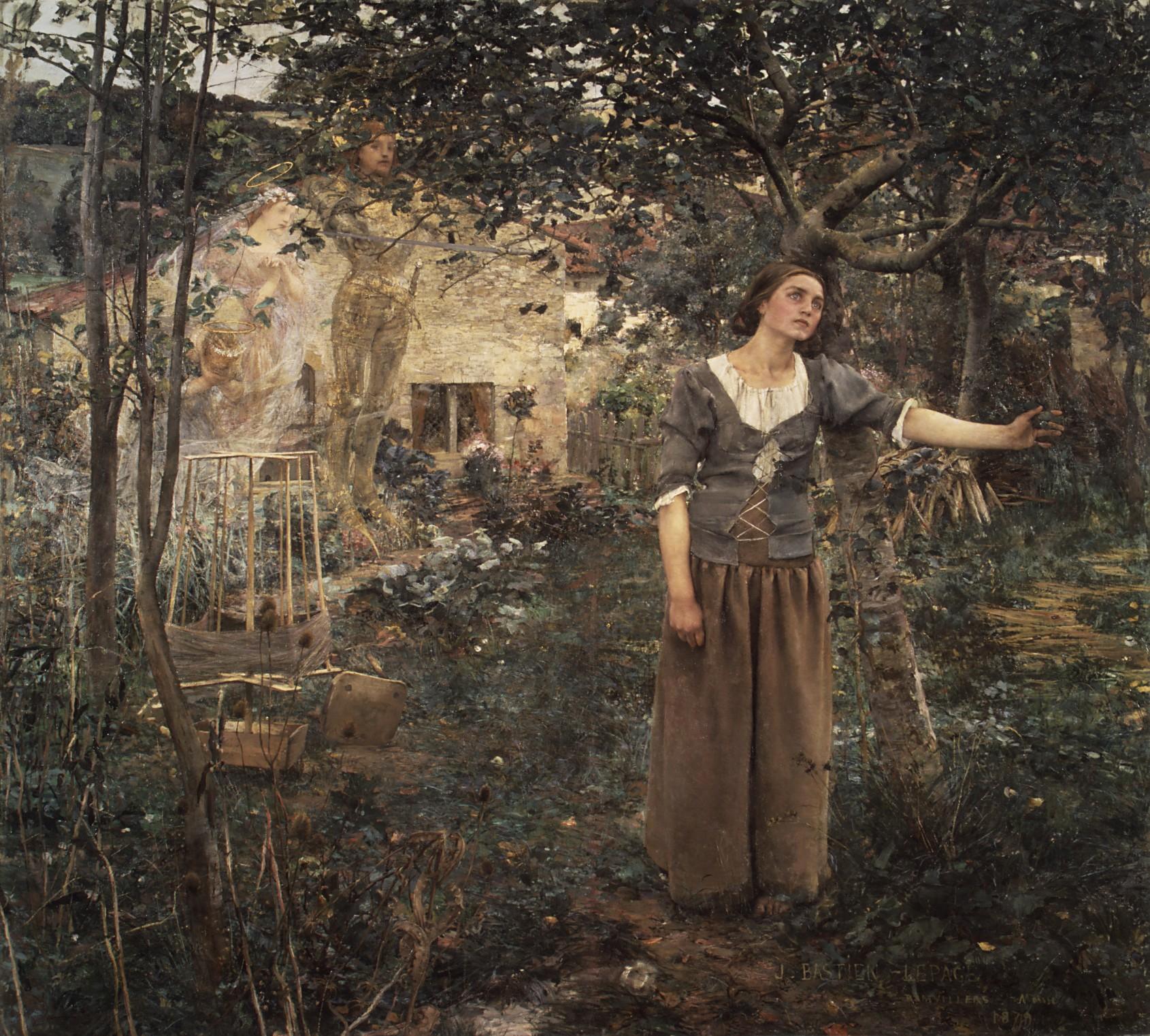 Joan of Arc, Jules Bastien-Lepage  (1879)